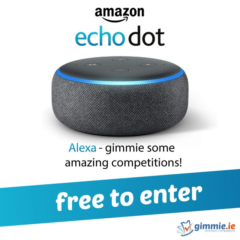 gimmie.ie Echo Dot Competition